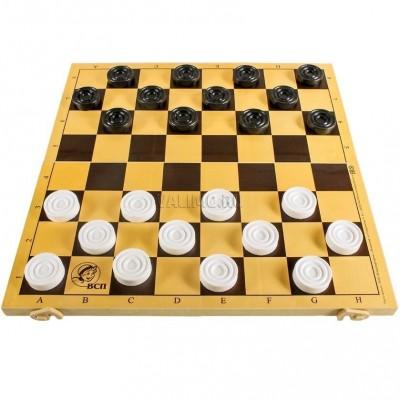 Шашки с шахматной доской