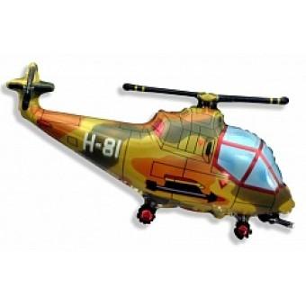 Шар Фигура, Вертолет, Военный Все для детского праздника - Усатый Масич
