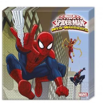 Салфетки бумажные Человек-Паук Все для детского праздника - Усатый Масич
