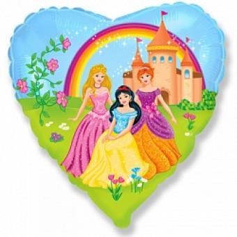 Шар -Сердце, Замок принцессы Все для детского праздника - Усатый Масич