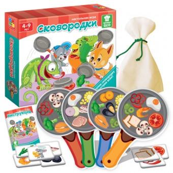 Игра настольная Сковородки Все для детского праздника - Усатый Масич