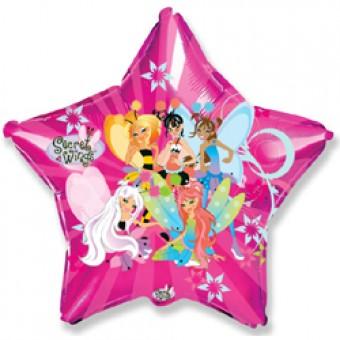 Шар-Звезда, Секретные крылья Все для детского праздника - Усатый Масич