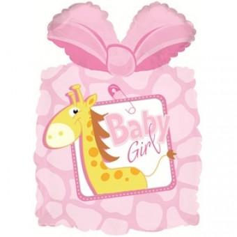 Шар-фигура,Подарок,розовый Все для детского праздника - Усатый Масич