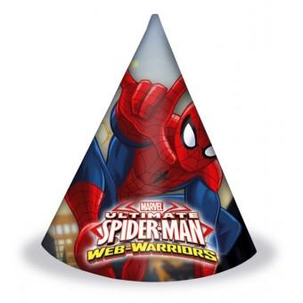 колпаки человек паук Все для детского праздника - Усатый Масич