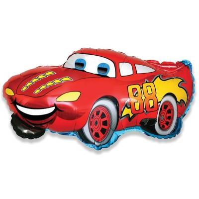 Шар-фигура,гоночная машина