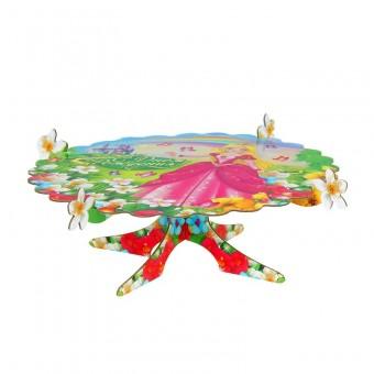 Подставка для пирожных С днем рождения принцесса Все для детского праздника - Усатый Масич