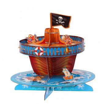 Подставка для пирожных двухъярусная Гроза морей Все для детского праздника - Усатый Масич