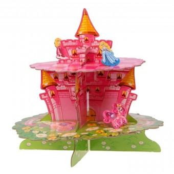 Подставка для пирожных двухъярусная Принцесса Все для детского праздника - Усатый Масич