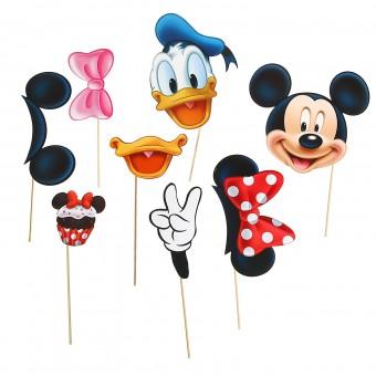 Набор фотобутафории Микки Маус и друзья Все для детского праздника - Усатый Масич