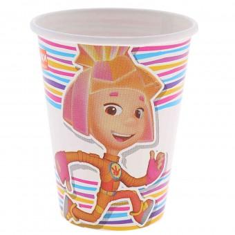 Набор стаканов Фиксики Все для детского праздника - Усатый Масич