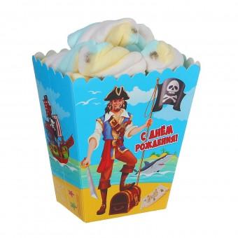 Снек-бокс Пираткая вечеринка Все для детского праздника - Усатый Масич