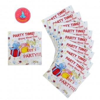 Салфетки бумажные Подарки Все для детского праздника - Усатый Масич