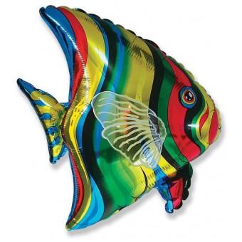 Шар -Фигура, Тропическая рыба Все для детского праздника - Усатый Масич