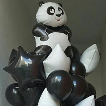 Фонтан из шариков Панда