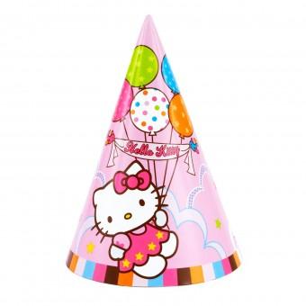 Колпак Hello Kitty 8шт Все для детского праздника - Усатый Масич