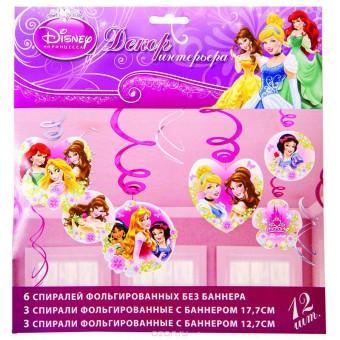 Спираль Disney Принцессы Все для детского праздника - Усатый Масич