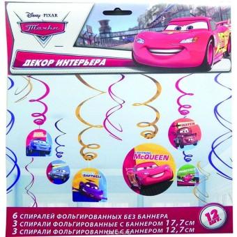 Спираль Disney Тачки Все для детского праздника - Усатый Масич