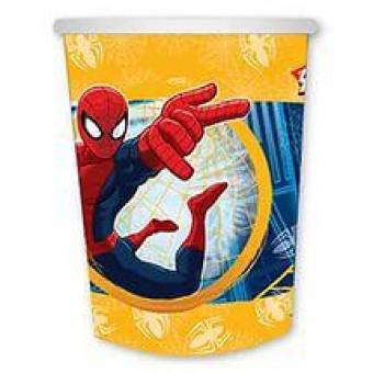 Стакан Marvel Человек-Паук Все для детского праздника - Усатый Масич