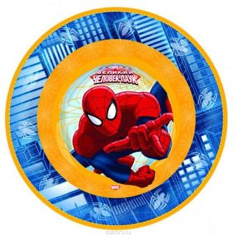 Тарелка Marvel Челов-Паук Все для детского праздника - Усатый Масич