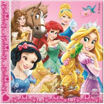 Салфетка Принцессы и животные Все для детского праздника - Усатый Масич