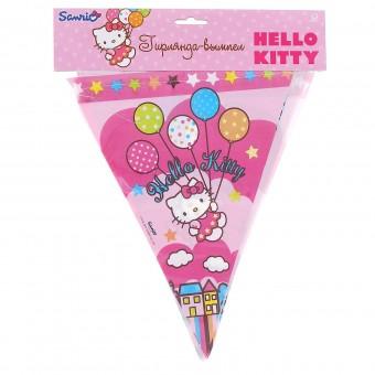 Гирлянда-вымпел Hello Kitty Все для детского праздника - Усатый Масич